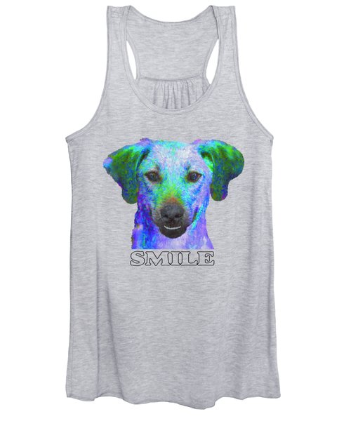 Doggy Smile Women's Tank Top