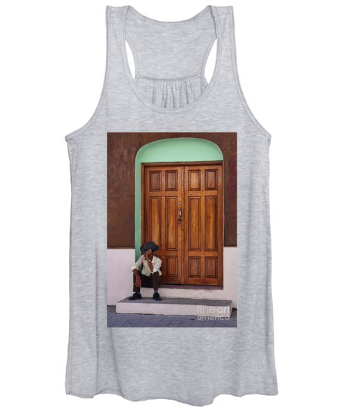 Door In Guatemala Women's Tank Top