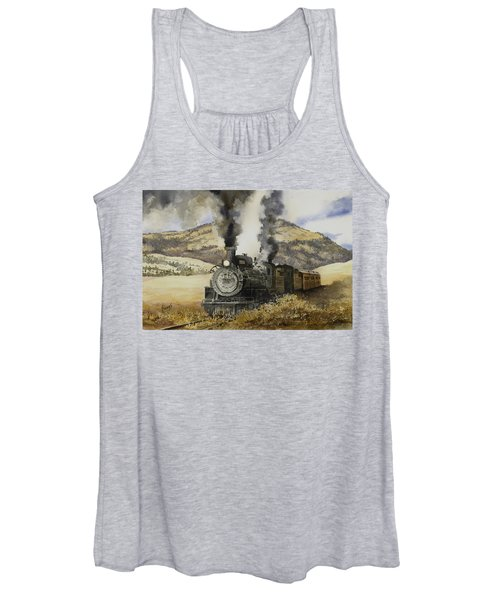 Double Teamin To Cumbres Pass Women's Tank Top