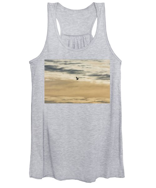 Dove In The Clouds Women's Tank Top