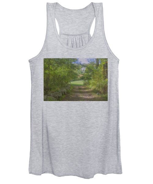 Down From The Mansion Women's Tank Top