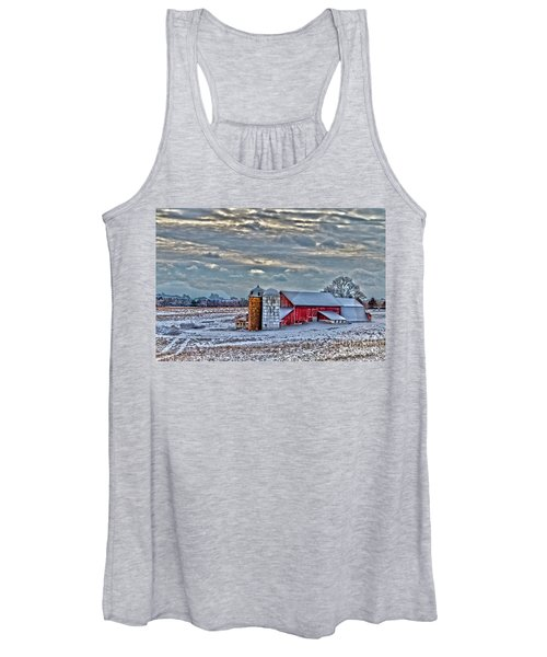 Down On The Farm Women's Tank Top