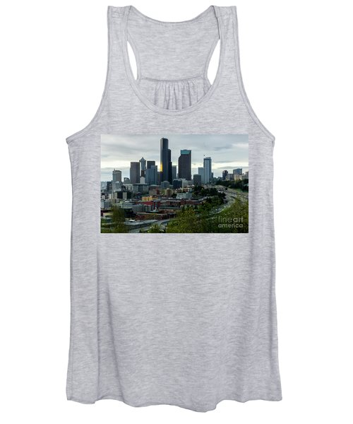 Downtown Seattle,washington Women's Tank Top