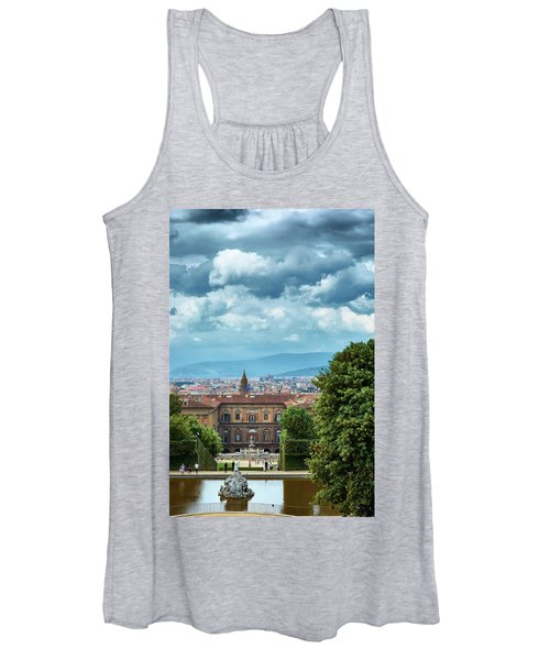 Drama In The Palace Of Firenze Women's Tank Top