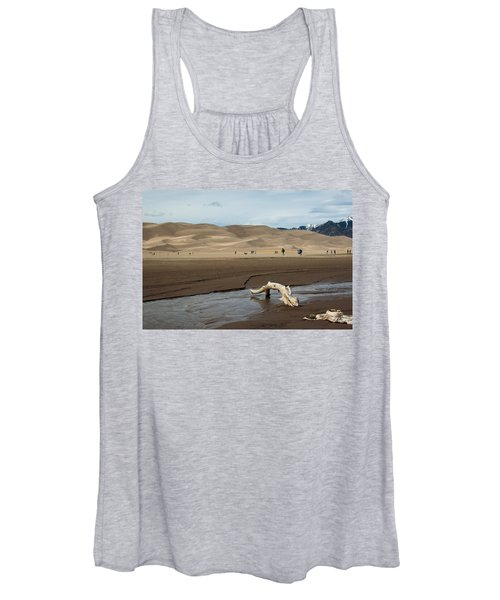Drift Wood And Dunes Women's Tank Top