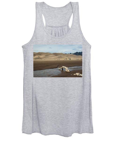 Drift Wood And Dunes Women's Tank Top