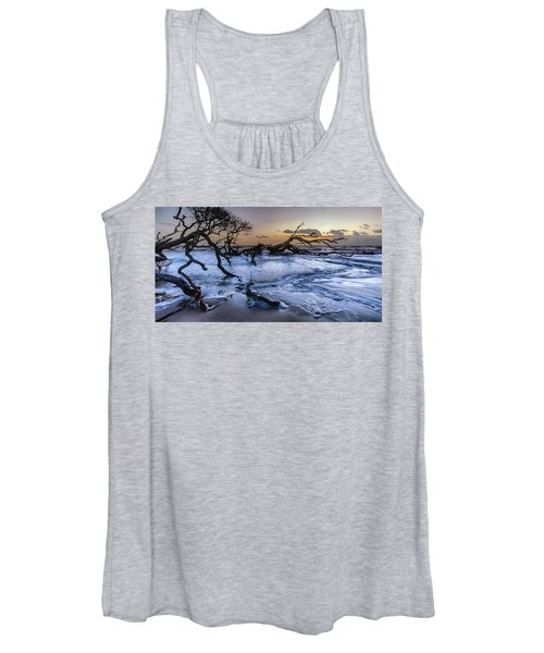Driftwood Beach 3 Women's Tank Top