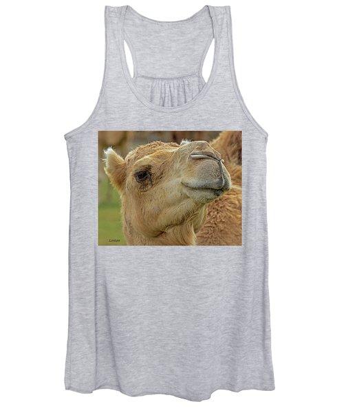 Dromedary Or Arabian Camel Women's Tank Top