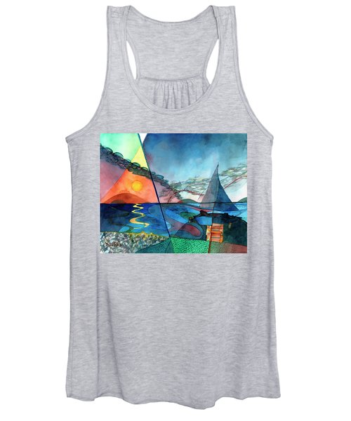Dusk Over The Chesapeake Women's Tank Top