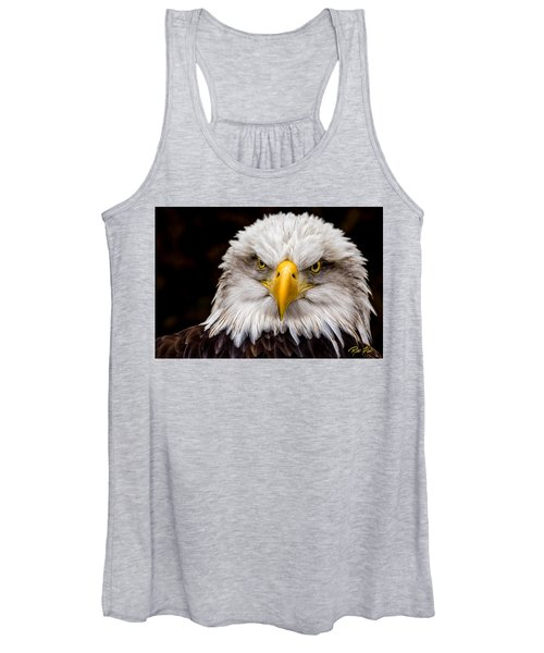 Defiant And Resolute - Bald Eagle Women's Tank Top