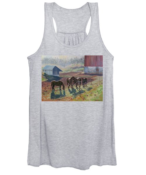 Early December At The Farm Women's Tank Top