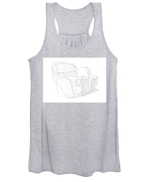 Early Ford Truck Women's Tank Top