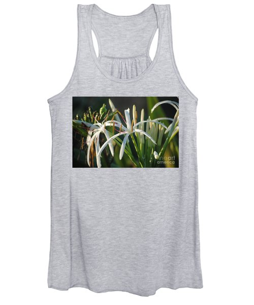 Early Morning Lily Women's Tank Top