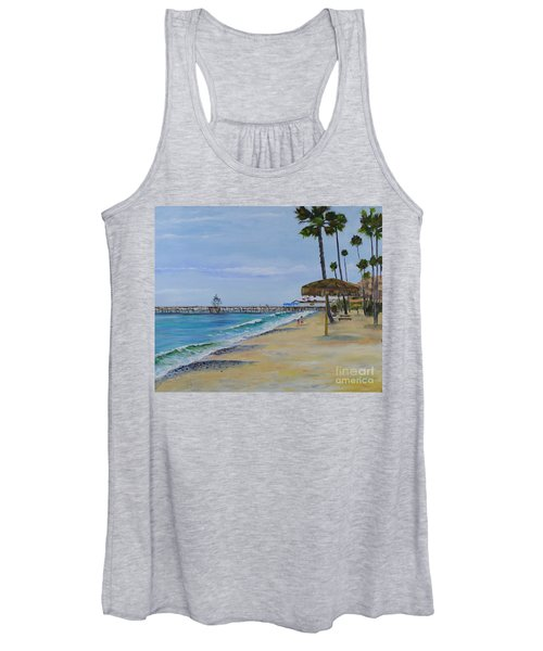 Early Morning On The Beach Women's Tank Top