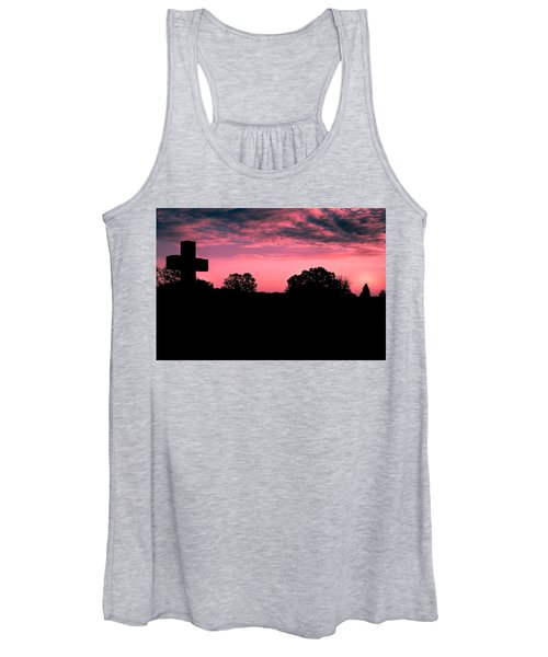 Early On The Hill Women's Tank Top