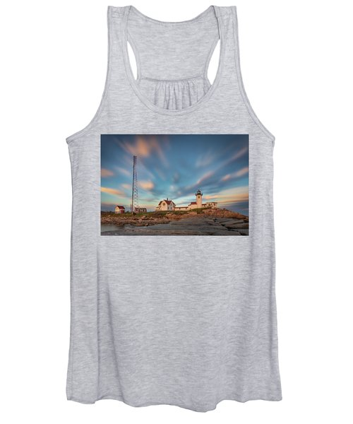 Eastern Point Lighthouse At Sunset Women's Tank Top