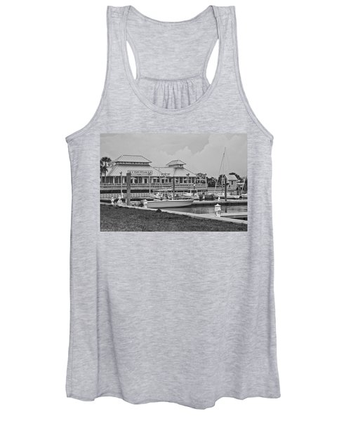 Eb And Flo's Steam Bar Women's Tank Top