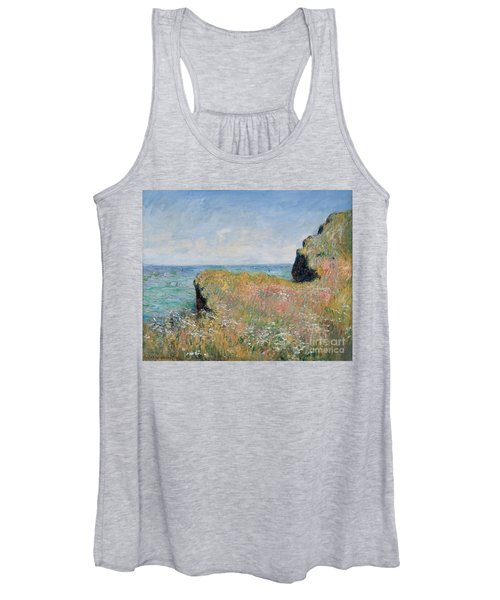 Edge Of The Cliff Pourville Women's Tank Top
