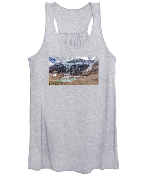 Edith Cavell Landscape Women's Tank Top