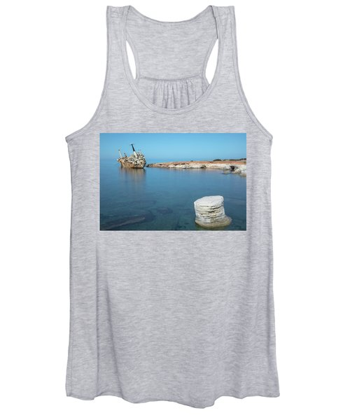 Edro IIi Shipwreck - Cyprus Women's Tank Top