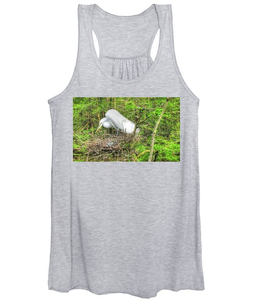 Egrets And Eggs Women's Tank Top