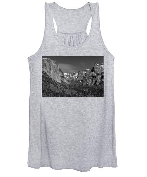 El Capitan And Half Dome Women's Tank Top