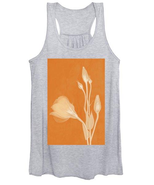 Elegance In Apricot Women's Tank Top