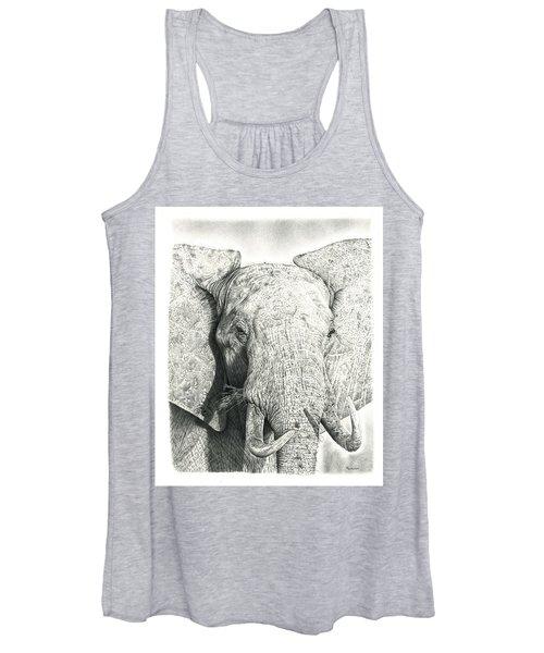 Elephant Women's Tank Top