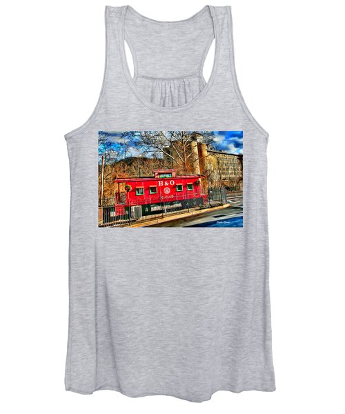 Ellicott City Train And Factory Women's Tank Top