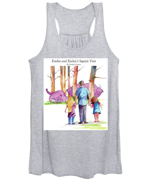 Emilia And Evelyn's Squizit Visit Women's Tank Top