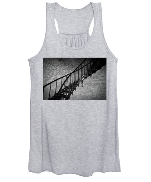 Enchanted Staircase II - Currituck Lighthouse Women's Tank Top