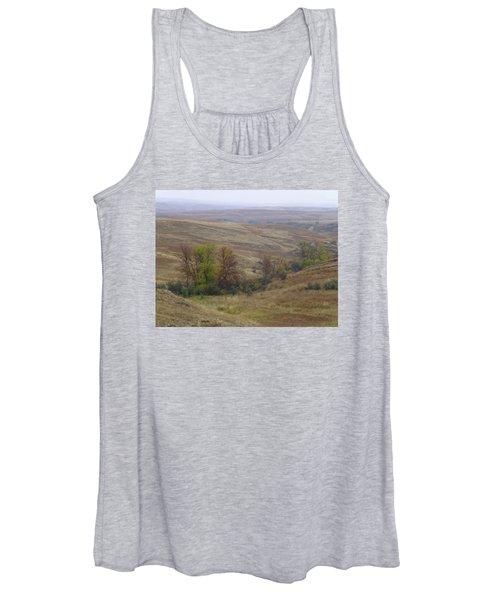Enchantment Of The September Grasslands Women's Tank Top