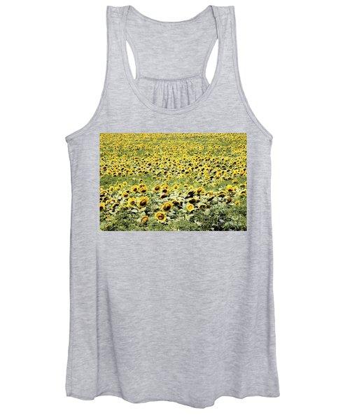 Endless Sunflowers Women's Tank Top