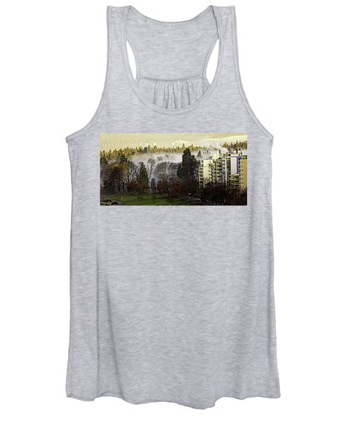 English Bay Fog #2 Women's Tank Top