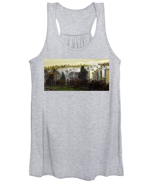 English Bay Fog Women's Tank Top