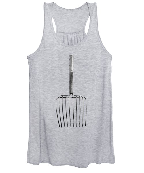 Ensilage Fork Down Women's Tank Top