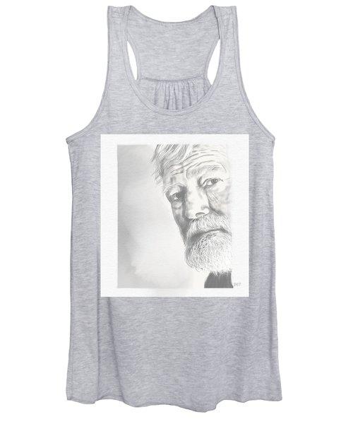 Ernest Hemingway Women's Tank Top