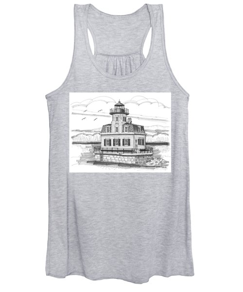 Esopus Meadows Lighthouse Women's Tank Top