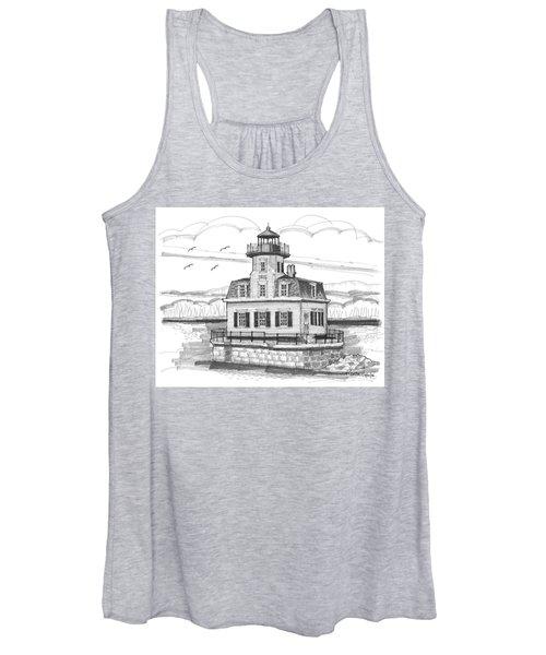 Esopus Meadows Lighthouse Women's Tank Top