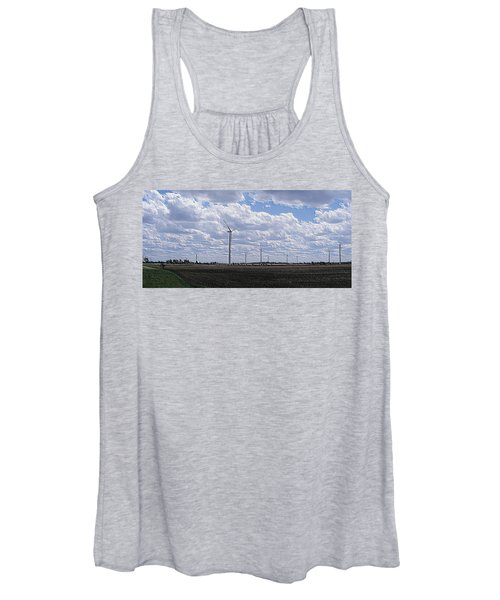 Etched In Stone Women's Tank Top