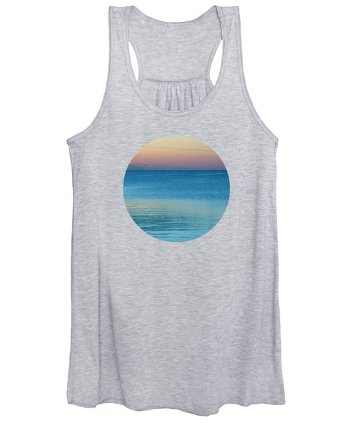 Evening At The Lake Women's Tank Top