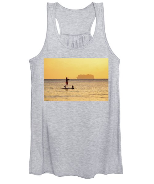 Evening Paddle Women's Tank Top
