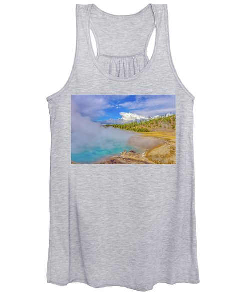 Excelsior Geyser Crater Yellowstone Women's Tank Top