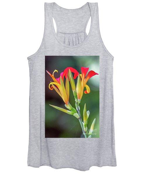 Exotic Flowers Women's Tank Top