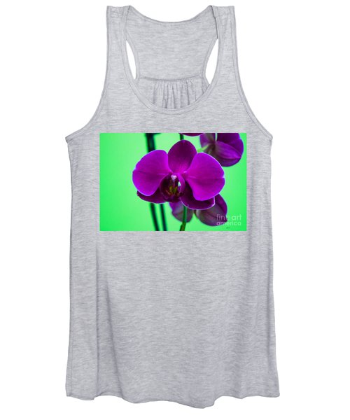 Exposed Orchid Women's Tank Top