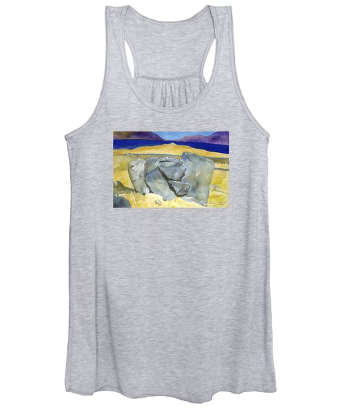 Faces Of The Rocks Women's Tank Top