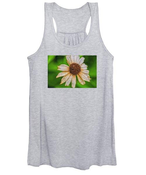 Faded Cone Flower Women's Tank Top