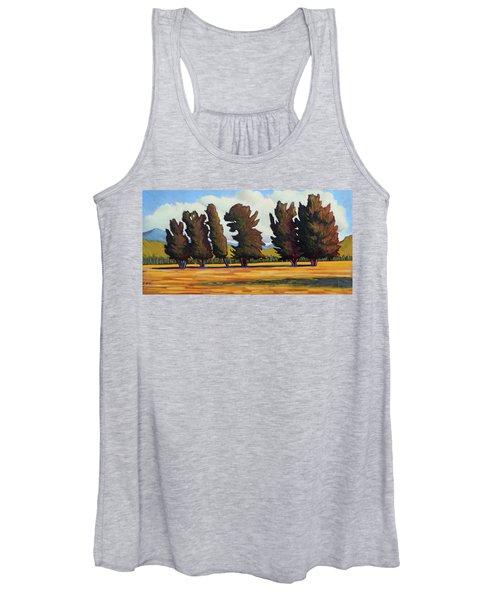 Fairfield Tree Row Women's Tank Top