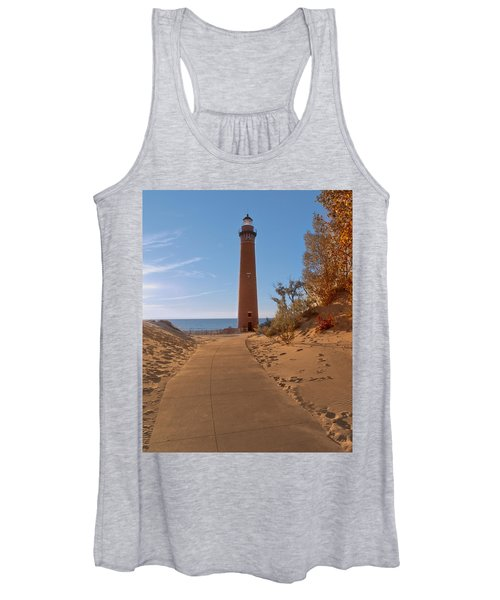 Fall At Little Point Sable Light Women's Tank Top