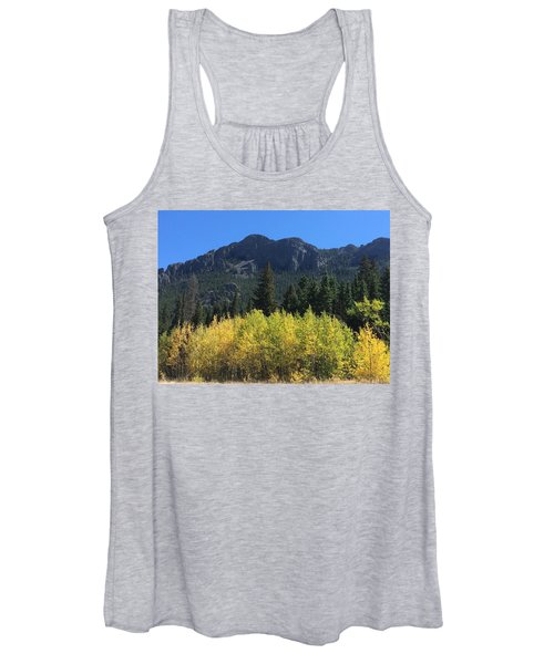 Fall At Twin Sisters Women's Tank Top